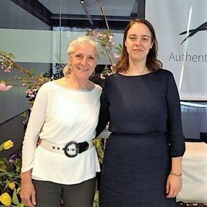 Anouk Brack met Wendy Palmer