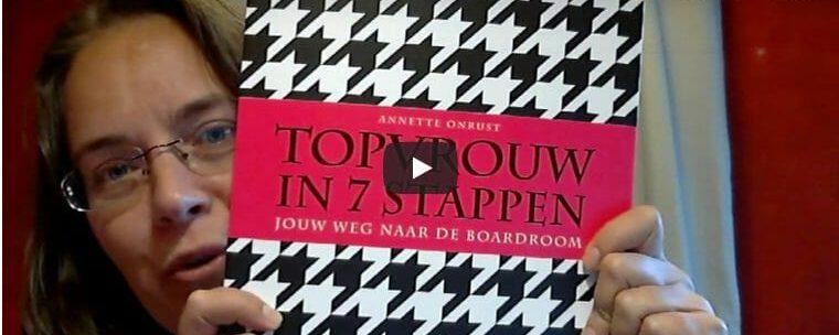 Recensie 'Topvrouw in 7 stappen' van Annette Onrust