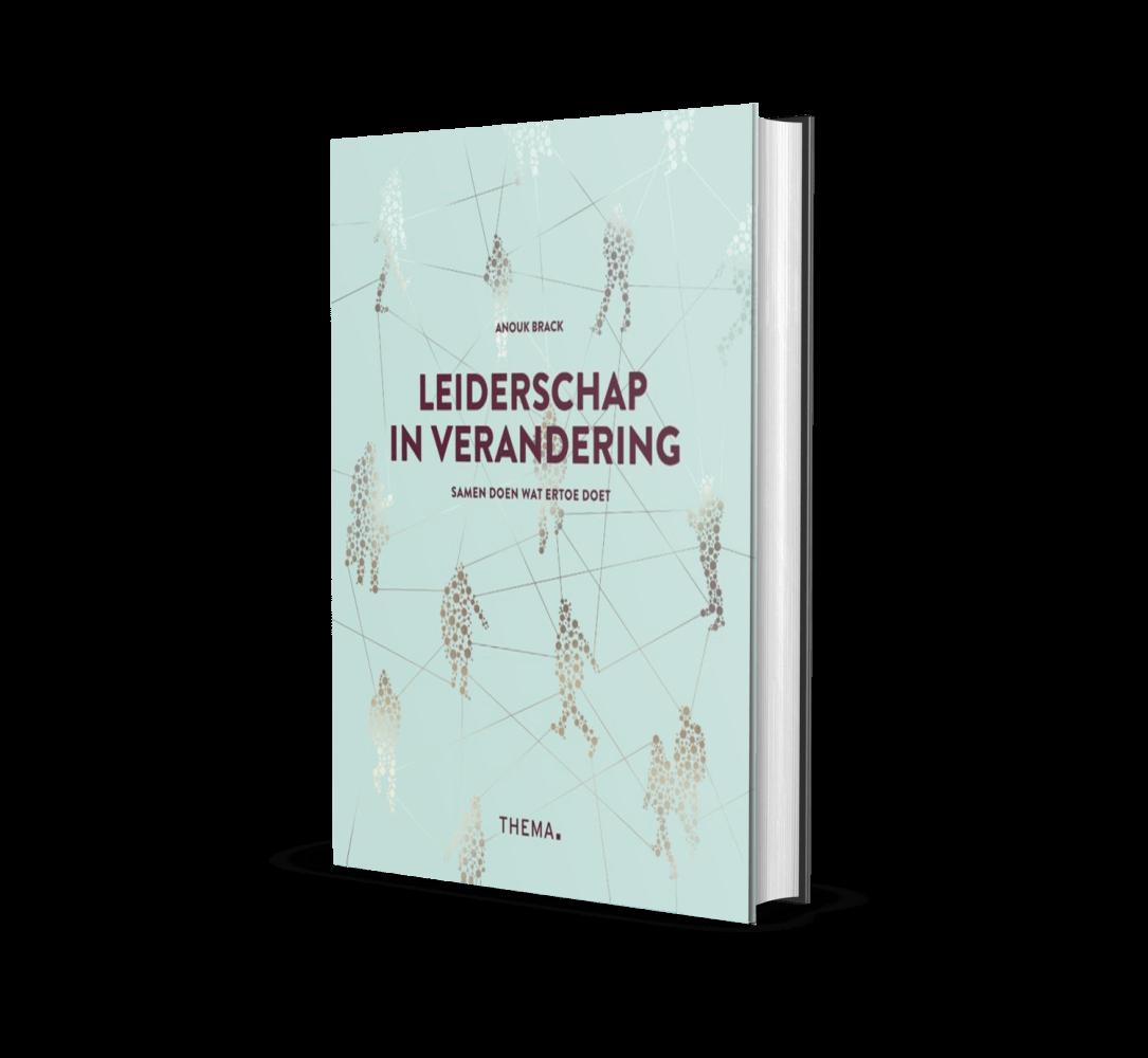 Boekcover Leiderschap in Verandering Anouk Brack